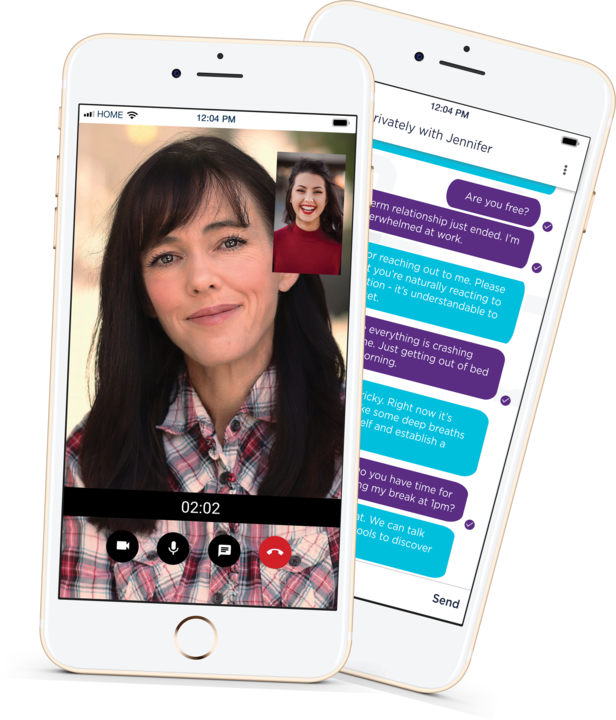 Snapclarity: Virtually speak to a therapist